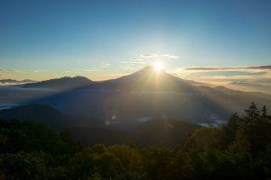七面山登詣